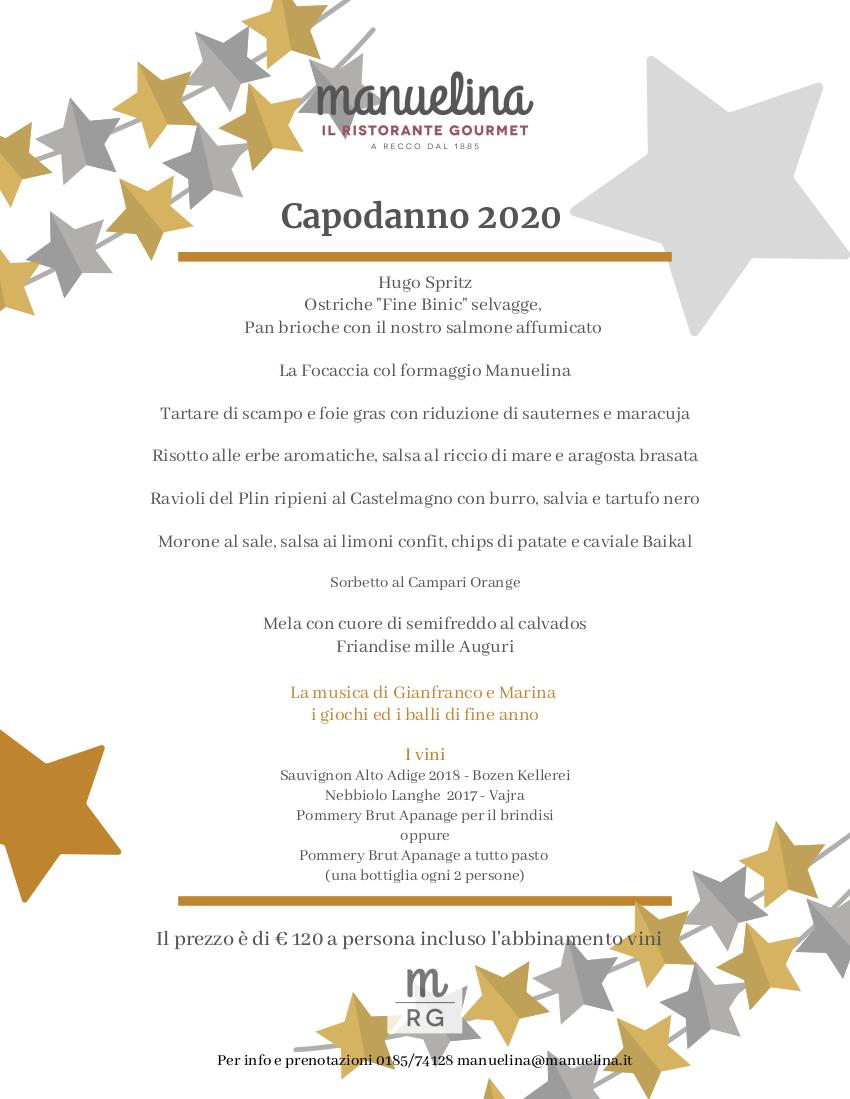 Manuelina Capodanno 2020