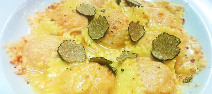 Ricetta ravioli zucca